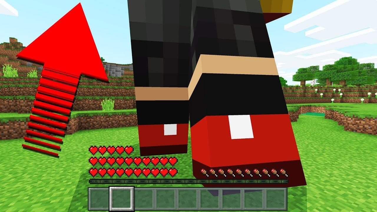 Become the WORLD'S LARGEST MINECRAFT PLAYER (Minecraft Addon