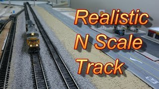 How I Ballast/Weather my N Scale Track