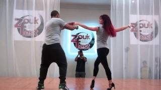 How to do Brazilian Zouk Dance Steps Demo Dance Performance