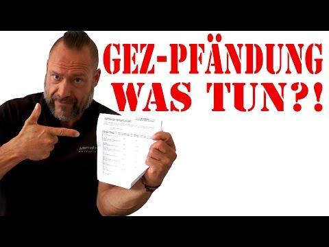 GEZ -  Beitragsservice will pfänden lassen - ACHTUNG!