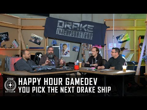 Happy Hour Gamedev: YOU Pick the Next Drake Ship