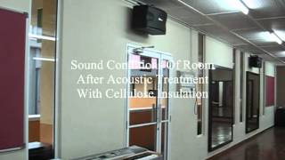 "Acoustic & Sound Insulation Malaysia 4 - Acoustic Treatment To Music Room ""Before And After"""
