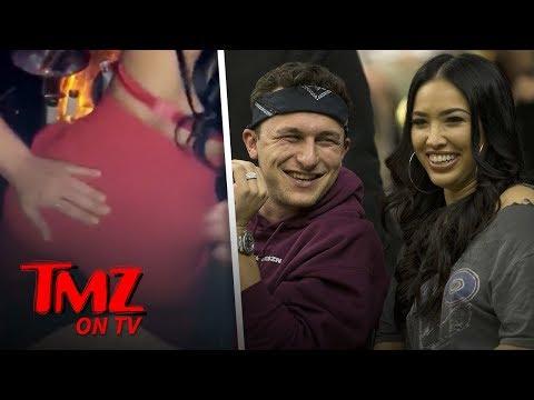 Johnny Manziel's Wife Bre Tiesi Twerks Her Ass Off At Lingerie Launch Party | TMZ TV