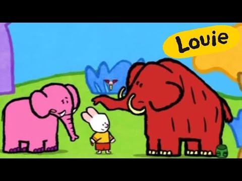 Mamut - Louie dibujame un Mamut | Dibujos animados para niños