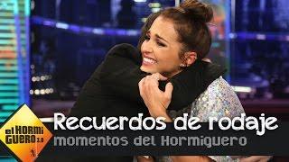 Paula Echevarría se derrumba al recordar la última escena con José Sacristán - El Hormiguero 3.0