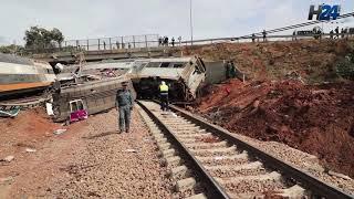 Drame ferroviaire: les travaux se poursuivent sur le lieu de l'accident