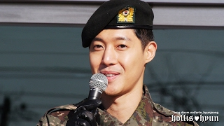 170211 Kim Hyun Joong 김현중 - Feelings on discharge