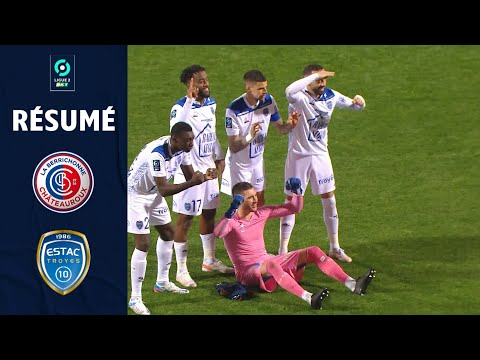Chateauroux Troyes Goals And Highlights