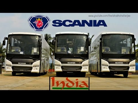 Scania Buses in India!!!