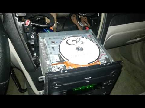 Ford 6 disc CD changer operation.
