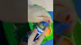 how to make slime   #shorts #diy #slime #ytshorts #viralvideo #1minutevideo #youtubeshorts #howto