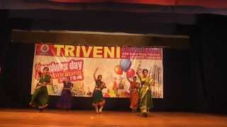 Sasivadane dance performance by Triveni Girls
