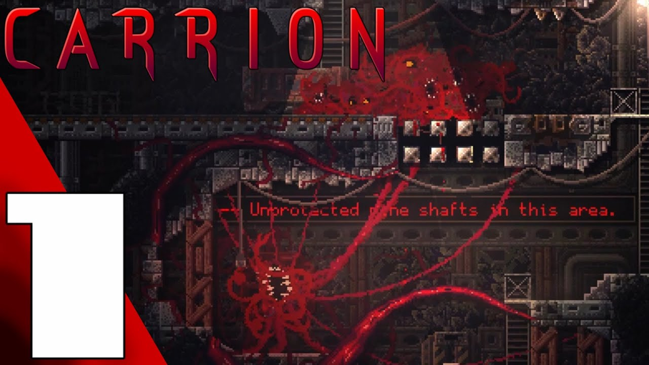 Carrion Full Game Gameplay Walkthrough Part 1 No Commentary