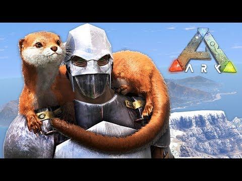 ARK: Survival Evolved - TAMING OTTERS!! (ARK Ragnarok Gameplay)