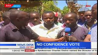 Rift Valley residents react to the ousting of Alfred Keter and Silas Tiren from House committees