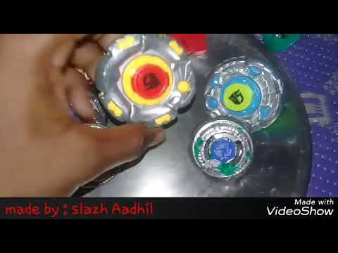 Transformer Beyblade vs metal Master Fury in real battle