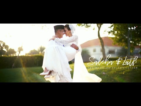 Siti Saleha & Lutfi :: Solemnisation {Official Video} by CST 4K