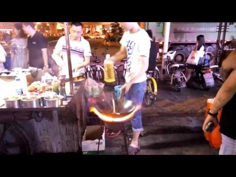 Street Food in Wuhan