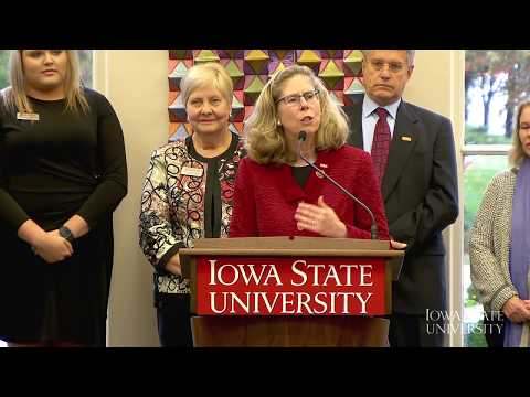 Iowa State University President Selection Announcement - Wendy Wintersteen