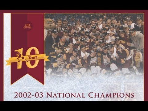 2003 Gopher Hockey National Championship Tribute Video