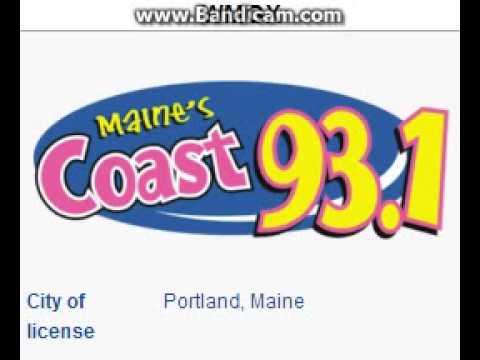 WMGX Coast 93.1 Portland, ME TOTH ID at 5:00 p.m. 7/6/2014