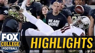 (16) Baylor tops Oklahoma State with big game from Seth Russell - 2016 College Football Highlights