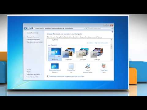 How To Delete A Theme In Windows® 7