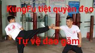 Tự vệ dao găm kungfu Tiệt quyền đạo các bước tập luyện