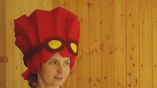 Фиксики. Как сделать шапочку-парик Файера.