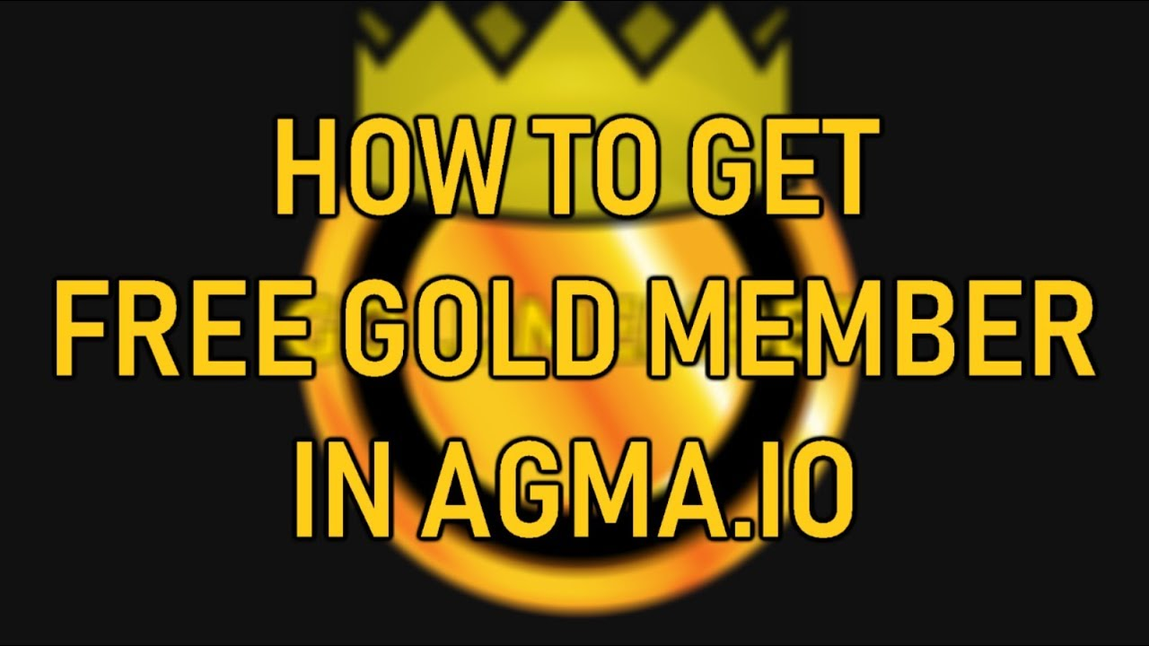 How To Get Free Gold Member In Agma Io April Fool Youtube