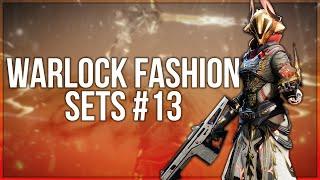 Destiny 2 Warlock Fashion Sets #13
