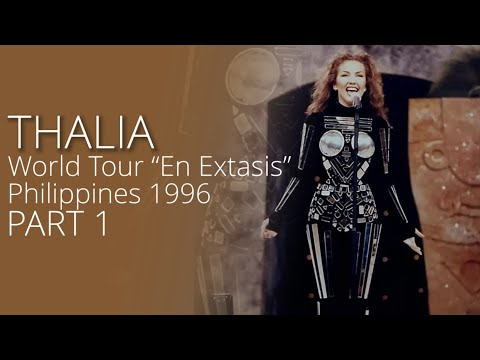 "Thalia – World Tour ""En Extasis"" - Philippines 1996"