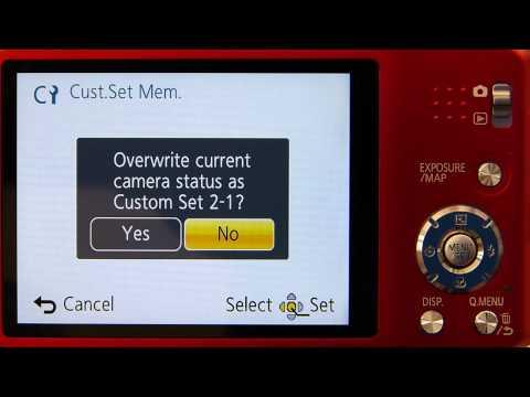 Understanding Panasonic Lumix Travel Zoom Cameras: Custom Profiles