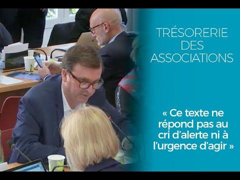 Trésorerie des associations : ce texte ne répond pas au cri d'alerte ni à l'urgence d'agir