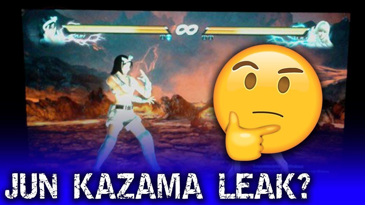 Jun Kazama In Tekken 7 Leak Or Mod Youtube
