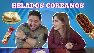 PROBANDO HELADOS COREANOS | EL GUZII | #TacosOTostadas