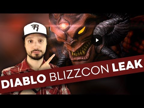 New Diablo Blizzcon Leak; Diablo comics canceled; Crossplay coming to D3; Overwatch cereal, & more..