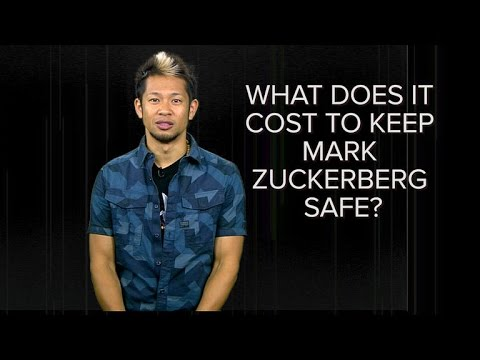 How much does it cost to keep Facebook's Mark Zuckerberg safe? (CNET News)