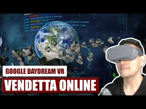 A Space MMORPG for Daydream? Hell Yeah! Vendetta Online for Daydream VR