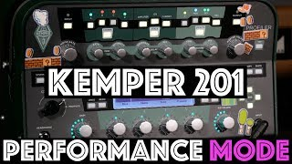 Kemper 201 Performance Mode - Kemper Tips and Tricks