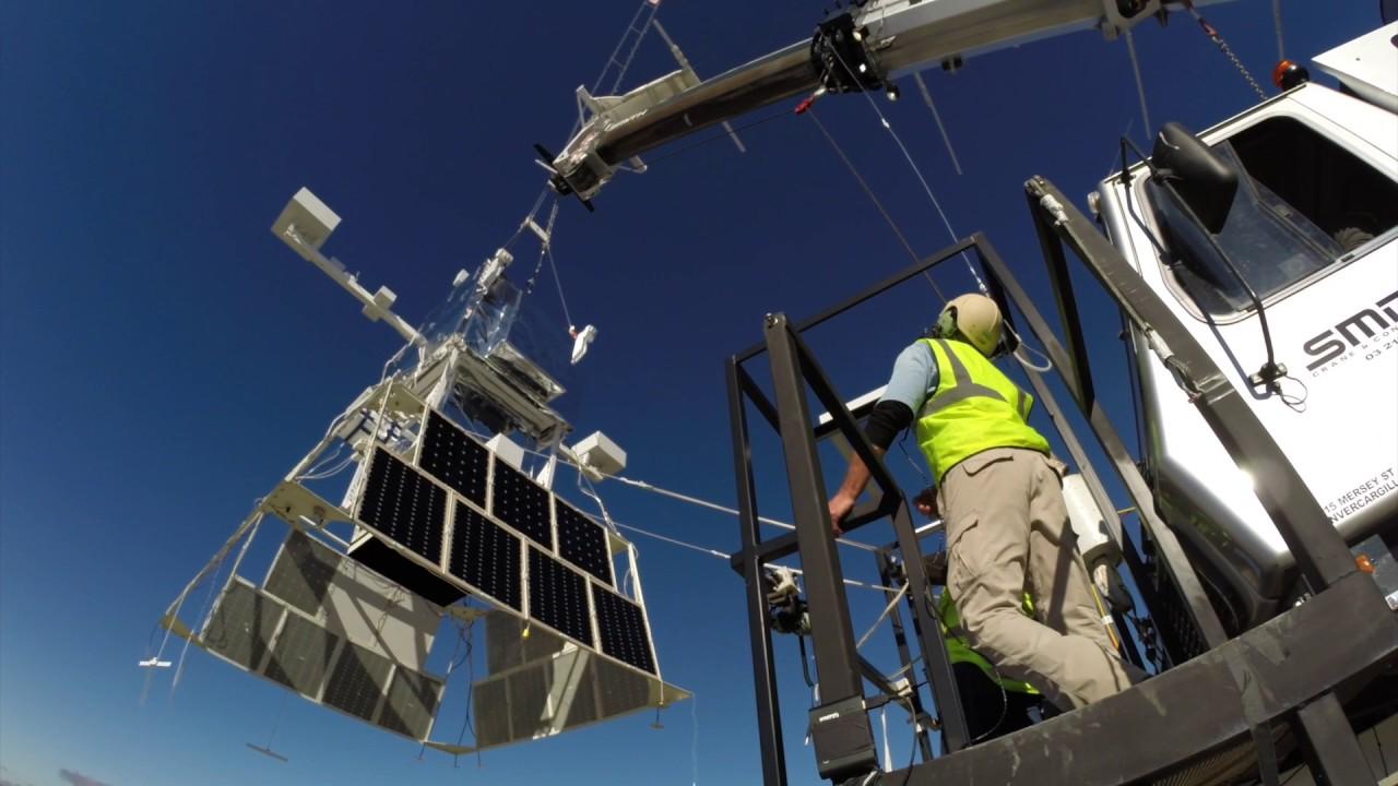 NASA's Launches Football Stadium Sized Super Balloon From New Zealand