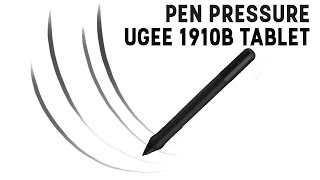 How to: Enable Pen Pressure - Ugee 1910b Graphics Tablet