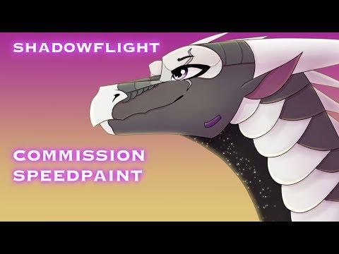 Shadowflight, Wings of Fire Speedpaint