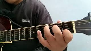Gambar cover Belajar kunci gitar C, am, dm, g. By guitar dx