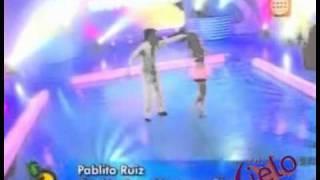 Daniela Luján y Pablo Ruiz en Lima Limón 29/09/2011 - Perú