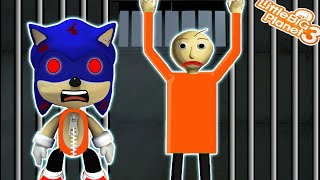 Sonic & Baldi in *JAiL*   LittleBigPlanet 3