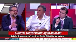 Krmz Cizgi   NTV Spor 1 Eylul 2017 A Milli Takm ve Lucescu'nun Bahaneleri Hakknda