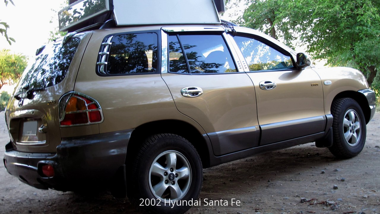 2002 hyundai santa fe youtube 2002 hyundai santa fe youtube
