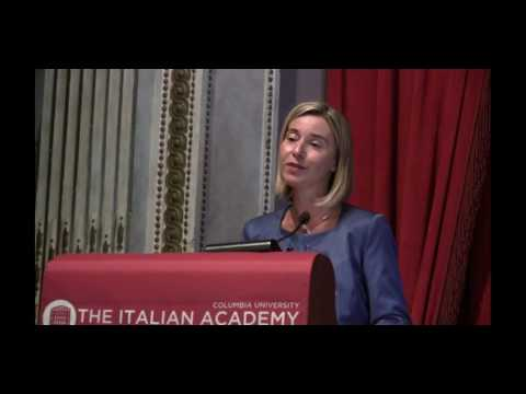 Federica Mogherini on The EU Global Strategy for Foreign Affairs & Security Policy (Full Recording)
