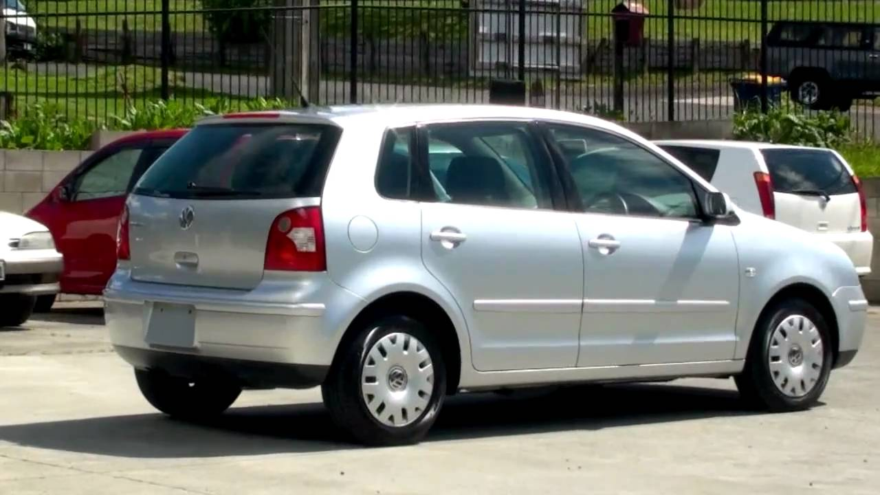 Volkswagen Polo 2003 76km 1 4l Auto Youtube